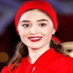 فرشته حسینی بازیگر سریال قورباغه در صربستان بلگراد