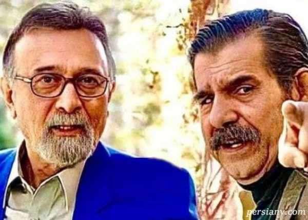 عزت الله مهراوران و پرویز پورحسینی