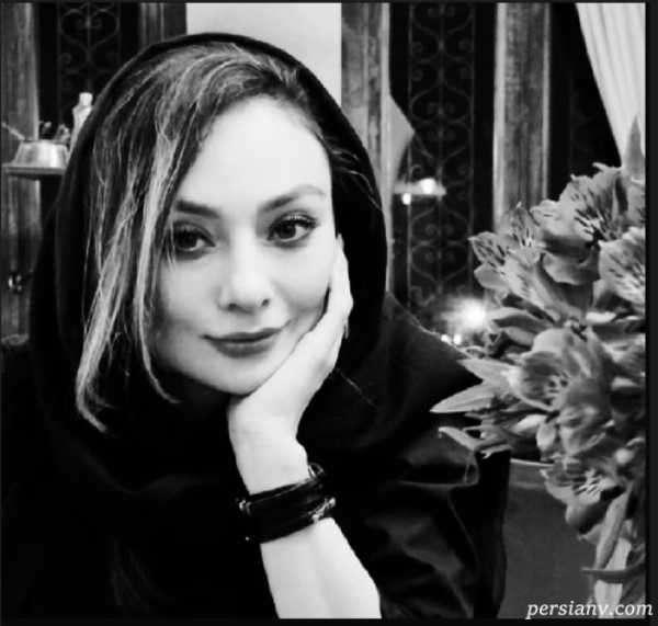 ناب ترین عکس سیاه و سفید یکتا ناصر همسر منوچهر هادی در خانه اش