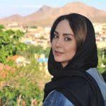 عکس های جدید و مدلینگ مریم خدا رحمی بازیگر با لباس قرمز
