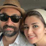 جشن تولد زیبای نیلوفر استخری توسط همسرش هادی فرنود در خانه
