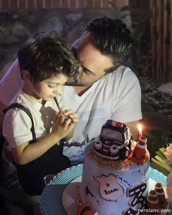 جشن تولد پسر پدرام کریمی