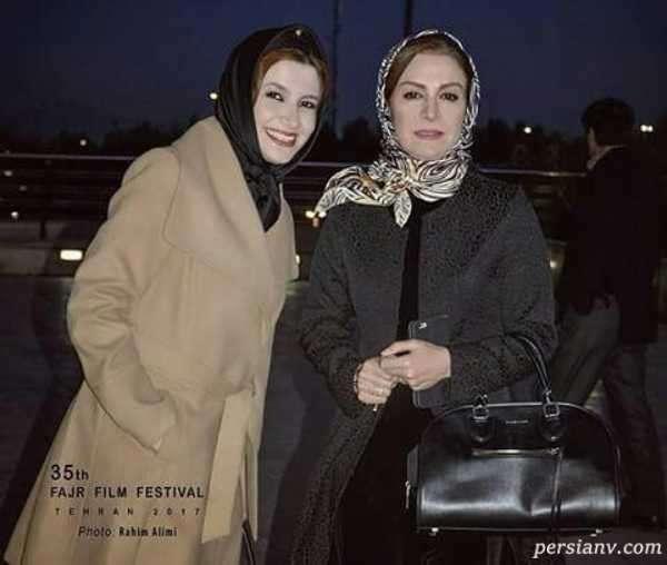 عکس ملیکا زارعی و دخترش