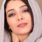 ست سفید لباس ساره بیات و همسرش علیرضا افکاری در تولد خانم بازیگر