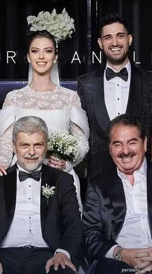عروسی باشکوه ایدو پسر ابراهیم تاتلیسس با مدل معروف و زیبا