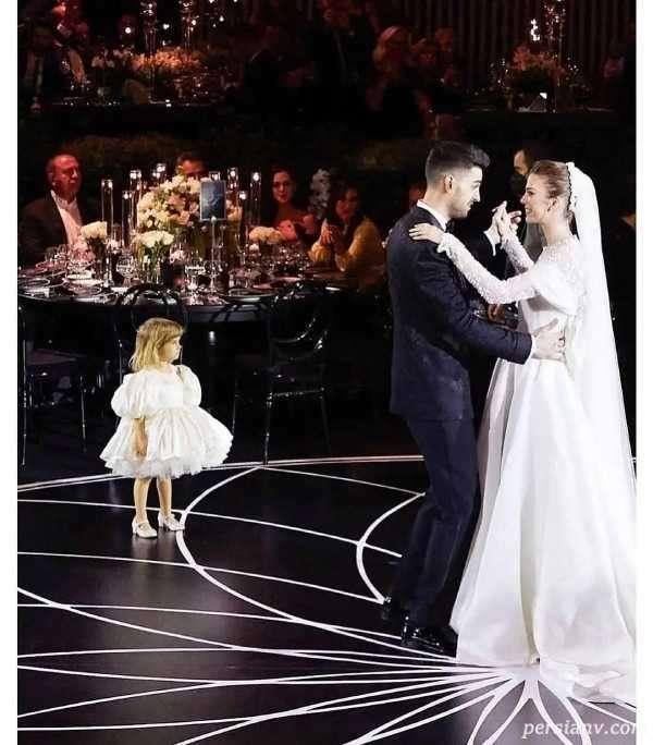 عروسی پسر خواننده