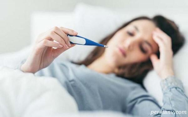 عوارض تب مادر بر روی جنین