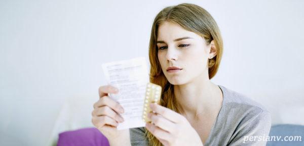 قرص ضد بارداری بالای چهل سال