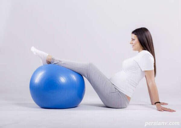 ورزشهایی که در دوران بارداری می توان انجام داد