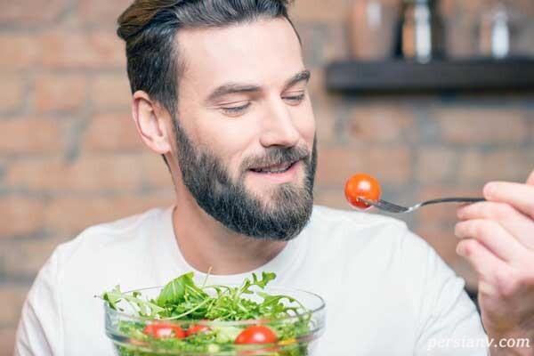 باروری مردان با تغذیه