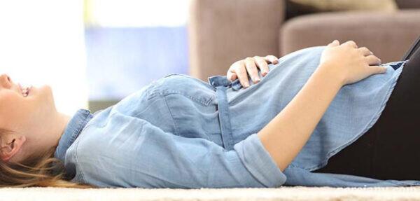 توصیه هایی برای خواب راحت در ۹ ماه بارداری !