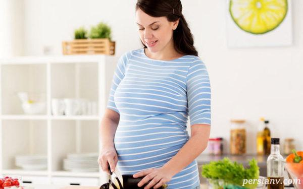 بادمجان در بارداری پوست جنین را تیره می کند؟