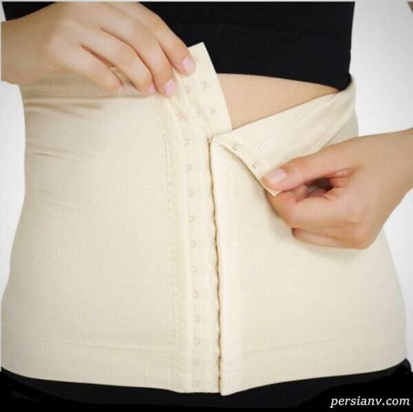 بستن شکم بند بعد از زایمان