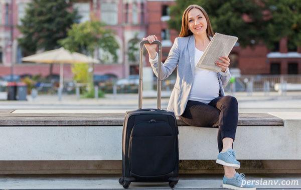 مسافرت با ماشین در بارداری
