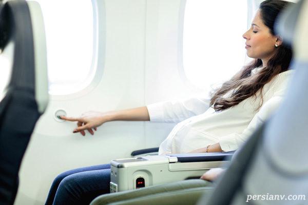 مسافرت با ماشین در زمان بارداری مجاز است؟