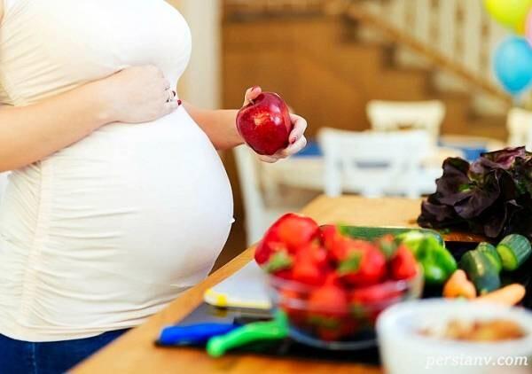 رژیم غذایی خانم های باردار
