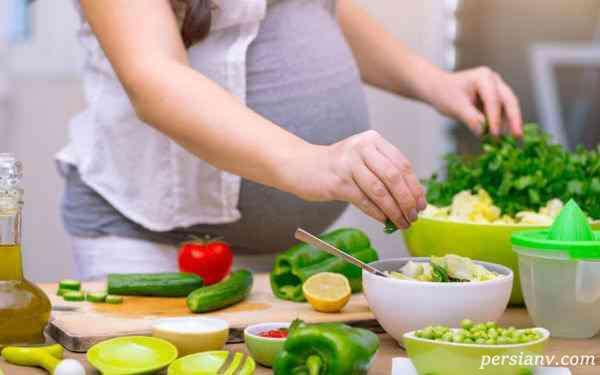 گیاه خواری در بارداری