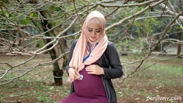 خوش تیپی در دوران بارداری