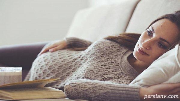 آیا ممکن است در دوران بارداری عادت ماهانه رخ دهد؟