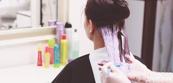 رنگ کردن مو در باردارى