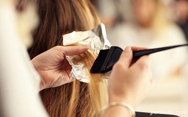 چند توصیه برای رنگ کردن مو در دوران بارداری !