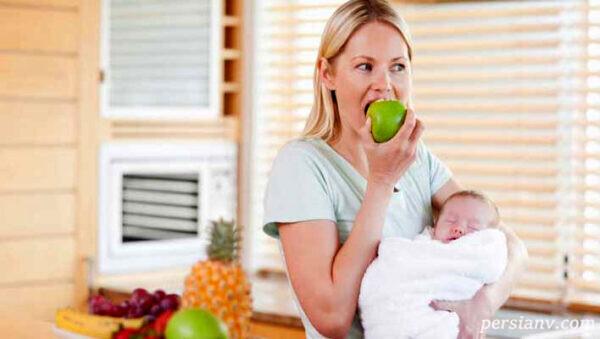 خوراکی های دوران شیردهی