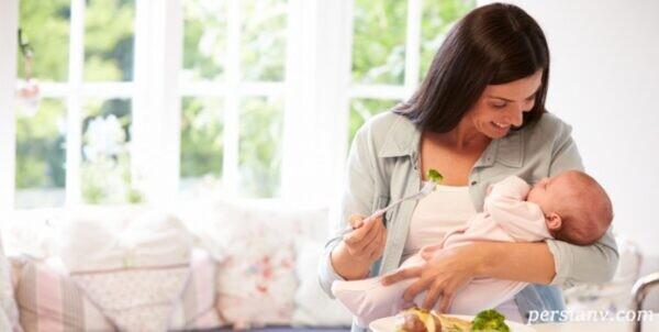 خوردن این خوراکی ها در دوران شیردهی مفید است