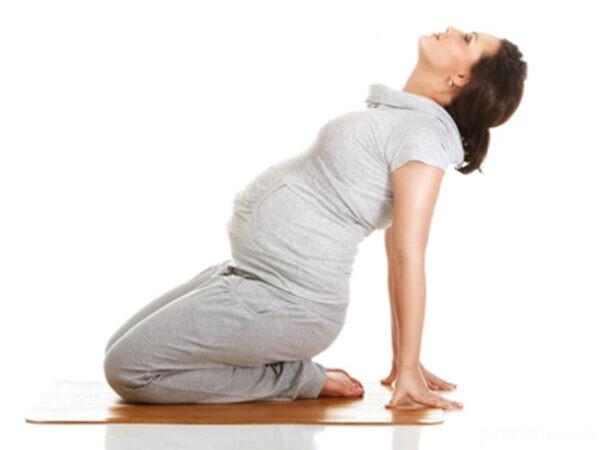 کمردرد بارداری