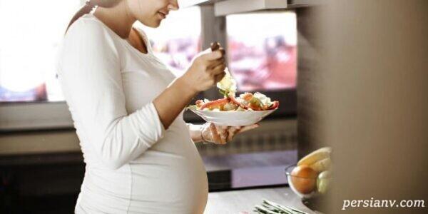 مضرات خوردن غذاهای سرخ کردنی در بارداری