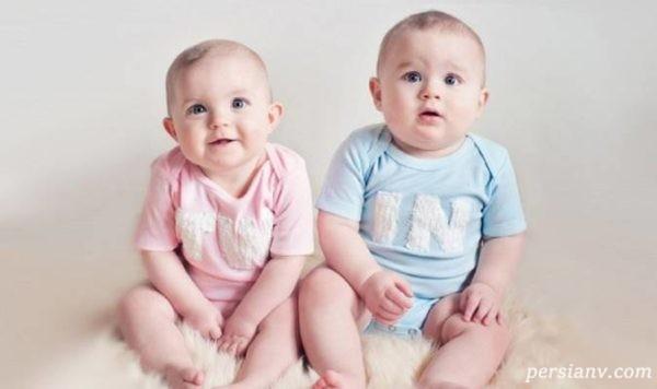همه چیز درباره بارداری دوقلویی