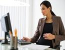 دوران بارداری و کار با کامپیوتر