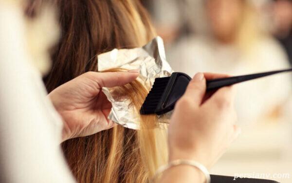 رنگ کردن مو در بارداری
