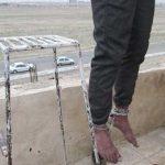 حلق آویز کردن مرد جوان با دسا و پای بسته در شهریار +عکس