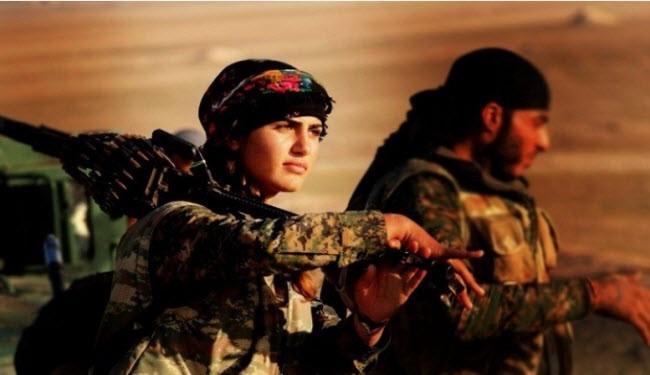 آنجلینا جولی کردها در نبرد با داعش کشته شد! + عکس