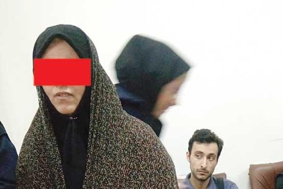 تصاویر بازسازی صحنه قتل مادر شوهر توسط عروس