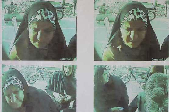 سرقتها از زنان به شیوه «بدل اندازی» / پیرزن خلافکار را شناسایی کنید + عکس