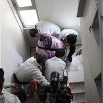 امداد رسانی به زن ۱۶۰ کیلویی تهرانی +تصاویر