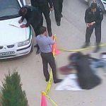 خودکشی مرد جوان پس از قتل همسرش در خیابان + عکس