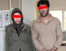 دختر و پسر زورگیر هنگام مصرف موادمخدر دستگیر شدند