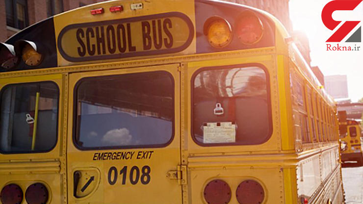 دختر بچه ۹ ساله زیر چرخهای اتوبوس مدرسه جان داد + عکس
