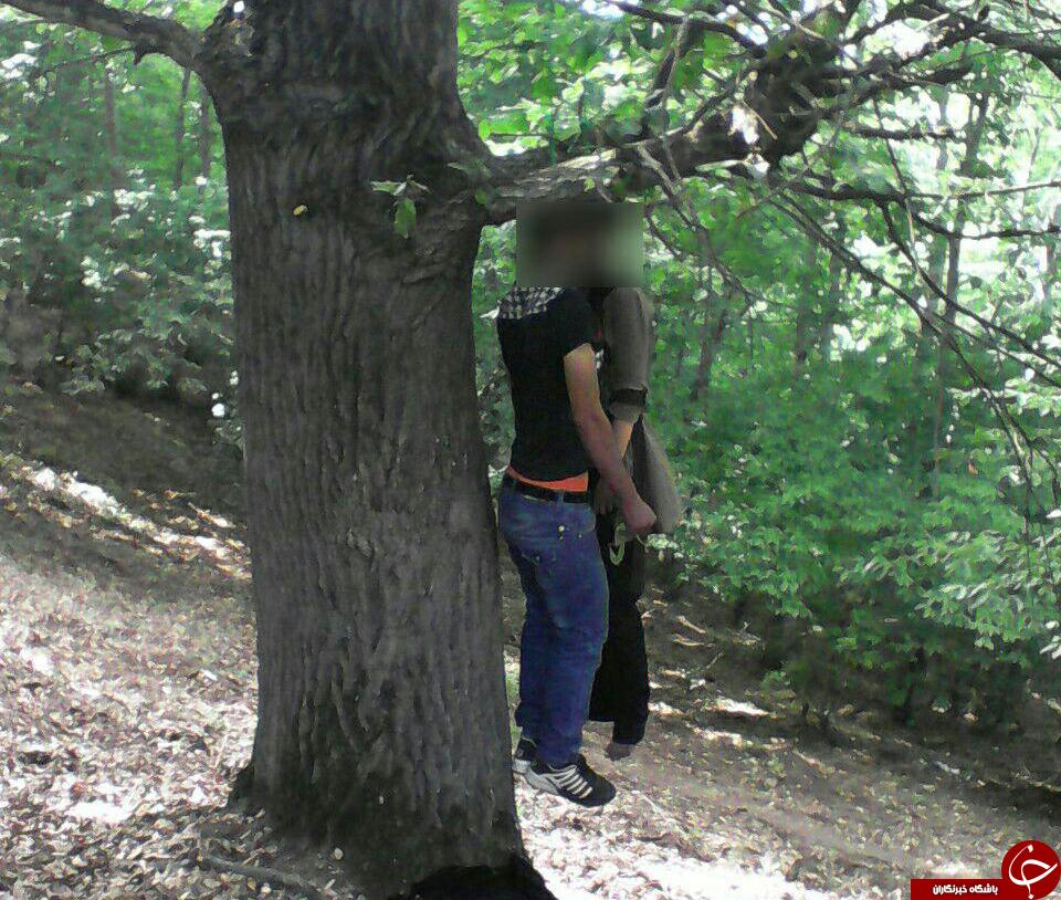 زن و مرد میاندورودی خود را حلق آویز کردند + عکس۱۸+