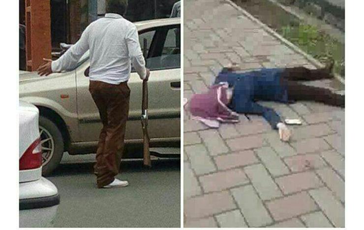 دخترم شوهر داشت اما بادو مرد بود/ اعتراف جدید عامل شلیک به دختر خویی/ یکی از مردها دستگیر شد+عکس