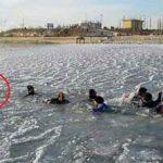 لحظه غرق شدن ۲ دختر در شورابیل +عکس