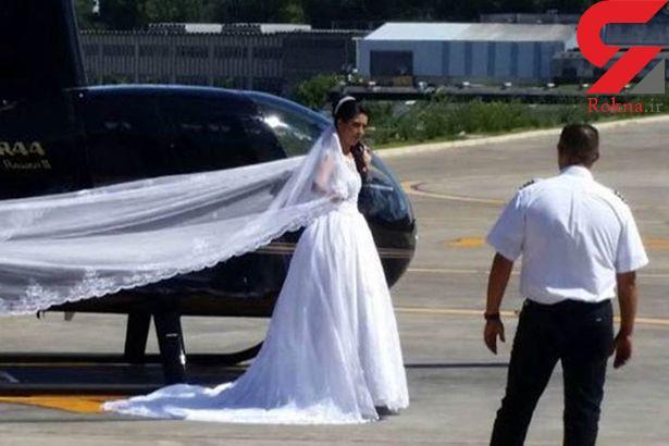 مرگ هولناک عروس لحظاتی قبل از عقد در جنگل/ جشن به عزا تبدیل شد +عکس