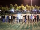 رقص در پارک ساری با آهنگ خواننده طاغوتی به مناسبت جشن مذهبی!