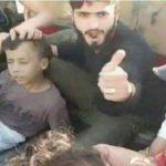 کُشته شدن قاتل داعشی که سر کودک ۱۱ ساله سوری را برید+عکس جنازه این داعشی