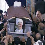 مرگ مشکوک مرد کارگر در مراسم خاکسپاری آیت الله هاشمی رفسنجانی