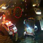 خودکشی مرد قوی هیکل در بزرگراه امام علی(ع)+فیلم