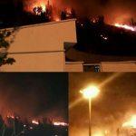 آتش سوزی درشهربازی اراک حادثه ساز شد