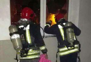 آتش سوزی در بیمارستان مهر اهواز حادثه ساز شد!